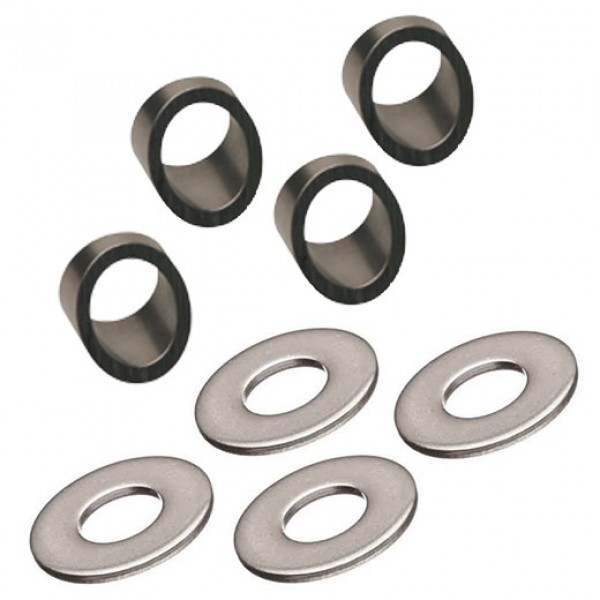 """Ultra-Tec Stainless Steel 32° Beveled and 1/2"""" SAE Washer Kit (4 Each) - BW32-6W/4"""
