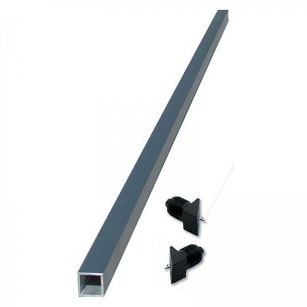 """Ultra-TEC 42"""" Undrilled Anodized Aluminium Cable Brace With 2 Plugs & Screws (Pitched-Runs Only) - CB-42-AN-AL-P"""