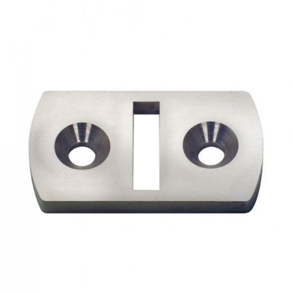 Ultra-TEC Stainless Steel Cable Brace Floor Plate - FLP-CBS